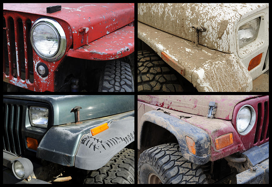 Jeep Photograph - Jeep 4x4 by Luke Moore