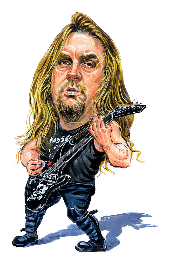 Jeff Hanneman Painting - Jeff Hanneman by Art