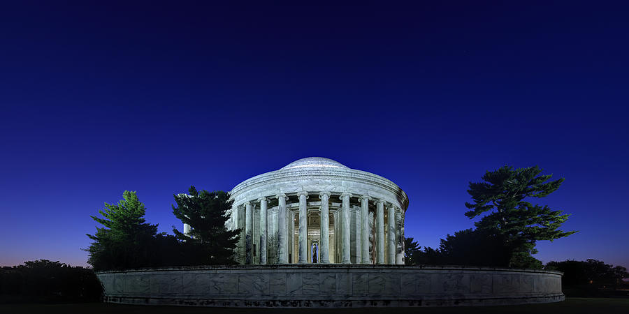Jefferson In The Morning by Metro DC Photography