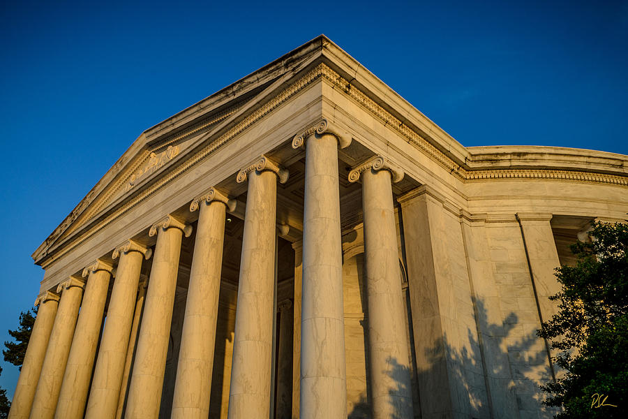 Jefferson Memorial Photograph - Jefferson Memorial Oblique by Pat Scanlon