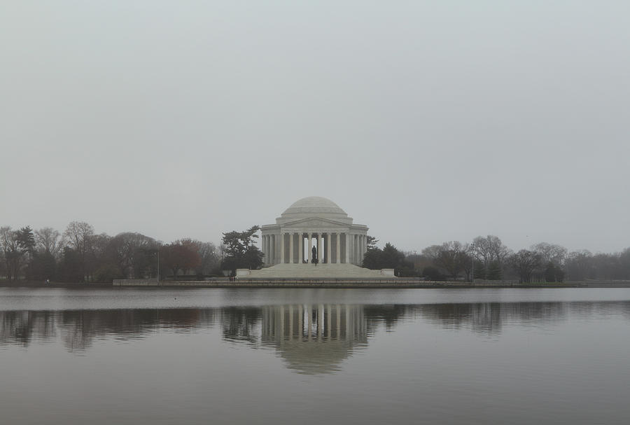 America Photograph - Jefferson Memorial - Washington Dc - 01136 by DC Photographer
