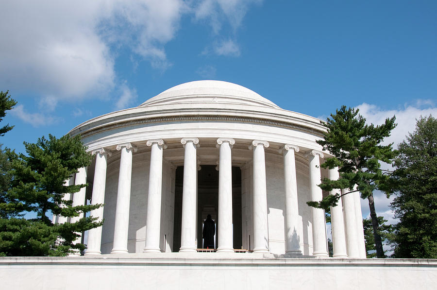 Attraction Photograph - Jefferson Memorial, Washington, Dc by Lee Foster