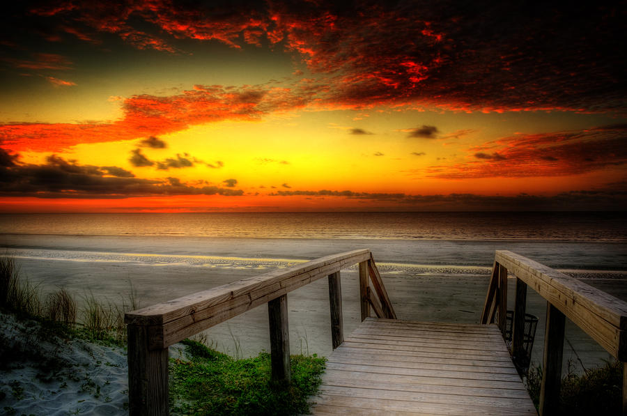Jekyll Island Morning by Greg and Chrystal Mimbs