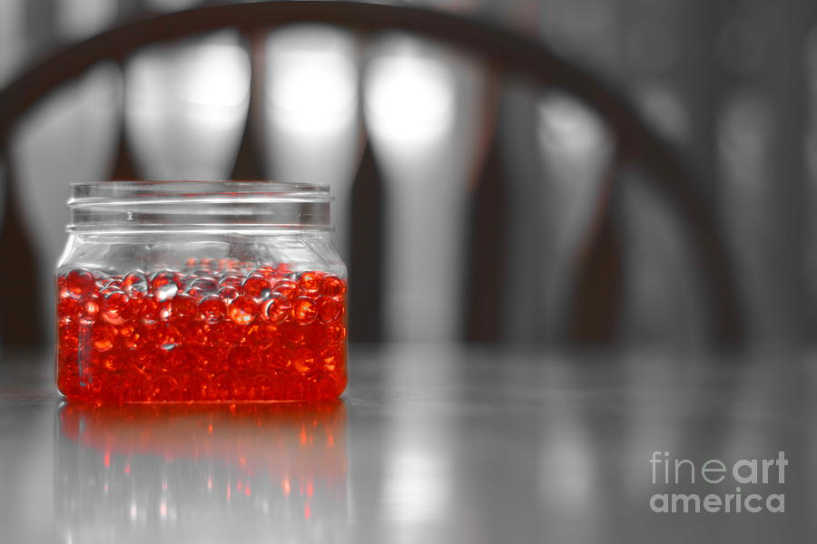 Red Jelly Digital Art - Jelly Balls by Bobby Mandal