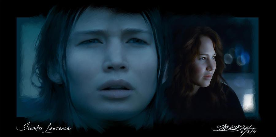 Hunger Games Digital Art - Jen by Mark Gallegos