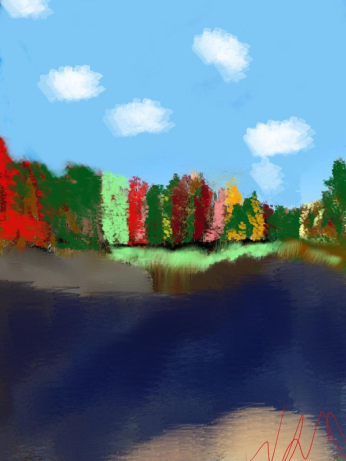 Fall Digital Art - Jenis Triumph by Bill Minkowitz