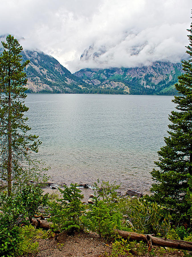 Wyoming Photograph - Jenny Lake In Grand Tetons National Park-wyoming  by Ruth Hager