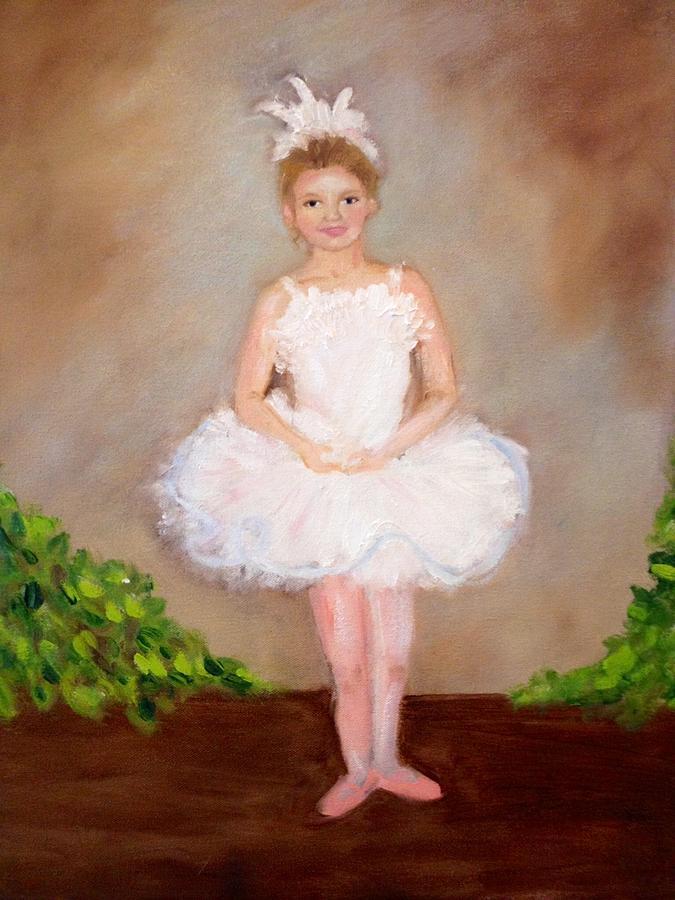 Ballerina Painting - Jensen The Ballerina by Jenell Richards
