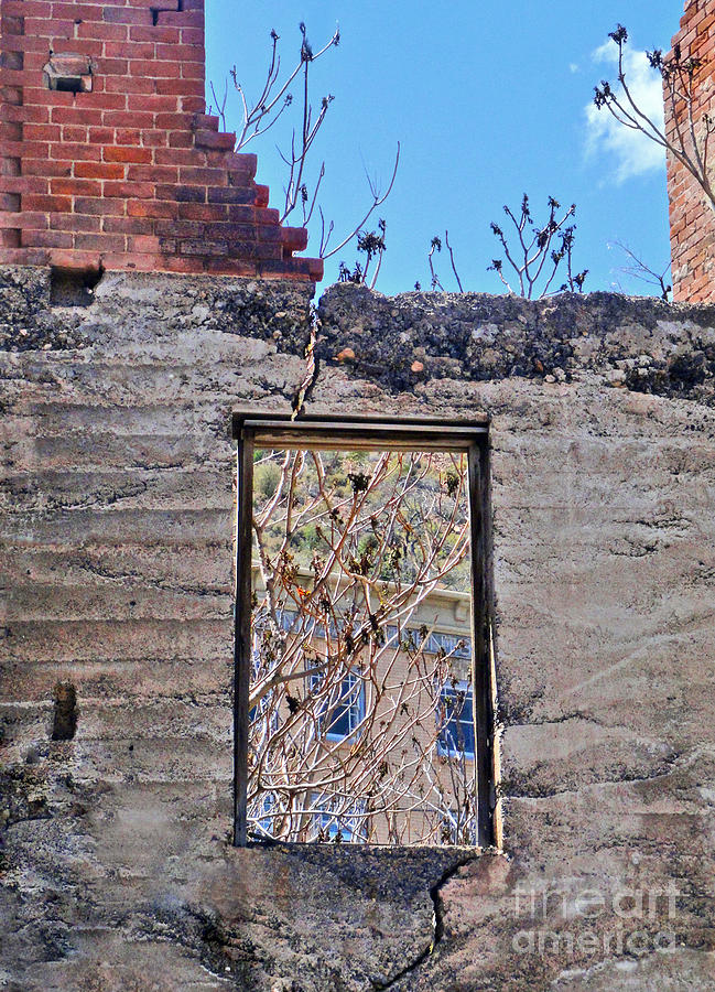 Jerome Arizona Photograph - Jerome Arizona - Ruins - 02 by Gregory Dyer