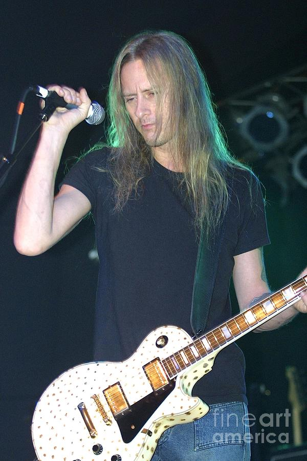Guitarist Photograph - Jerry Cantrell by Concert Photos