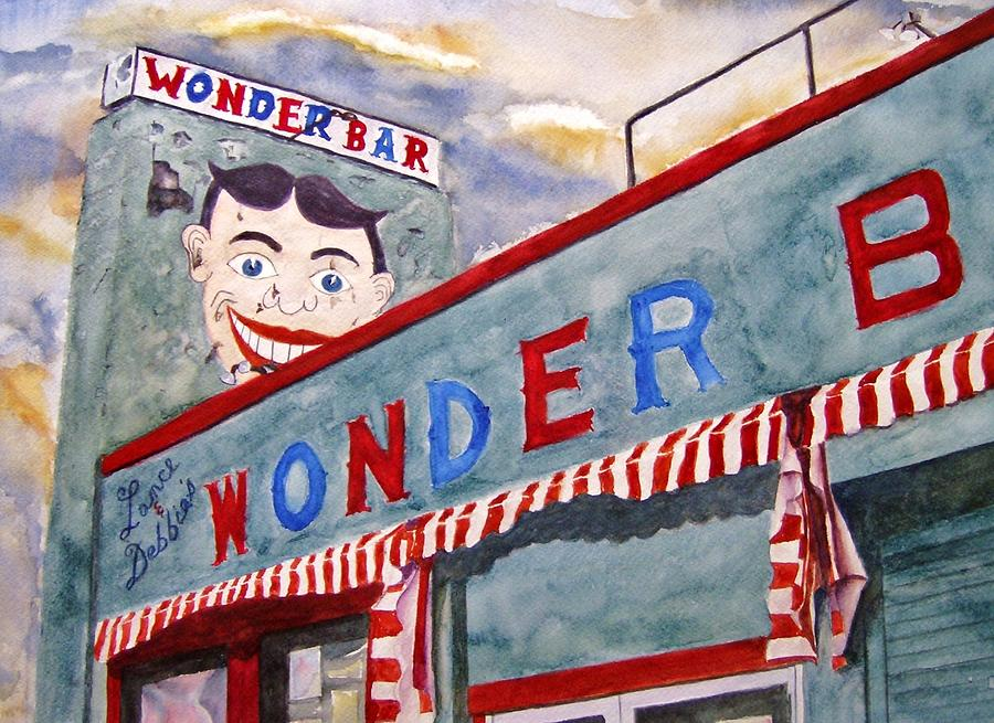 Wonder Bar Painting - Jersey Boy by Brian Degnon
