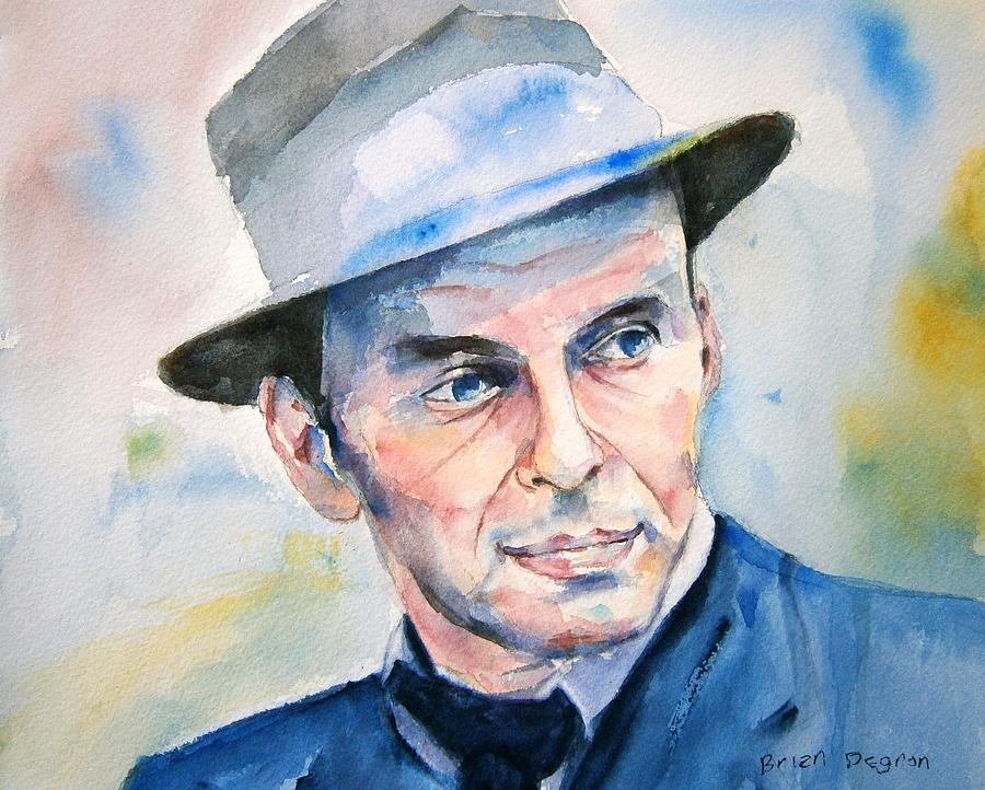 Sinatra Painting - Jersey Guy by Brian Degnon