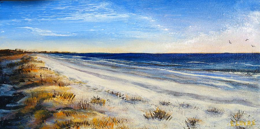 Jersey Painting - Jersey Shore by Eileen Lovre