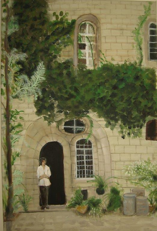 Jerusalem Painting - Jerusalem by Anavit Lavi