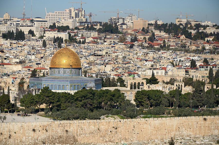 Jerusalem Photograph by Madzia71
