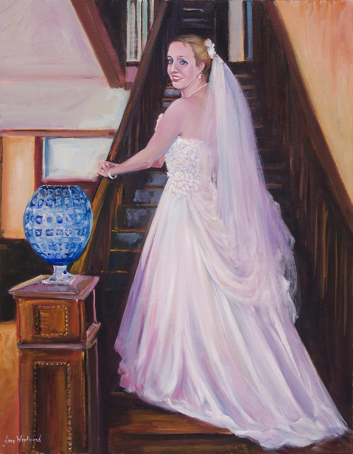 Commissioned Artwork Painting - Jess by Jane Woodward