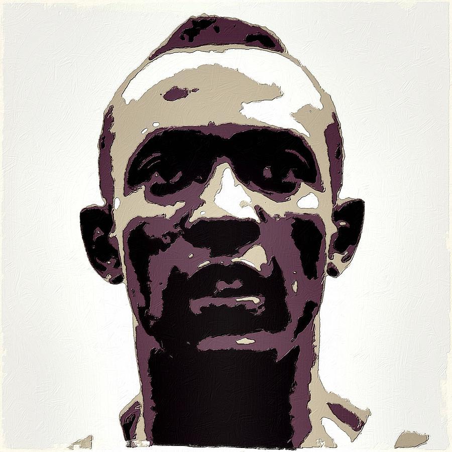 Jesse Owens Painting - Jesse Owens Poster Art by Florian Rodarte