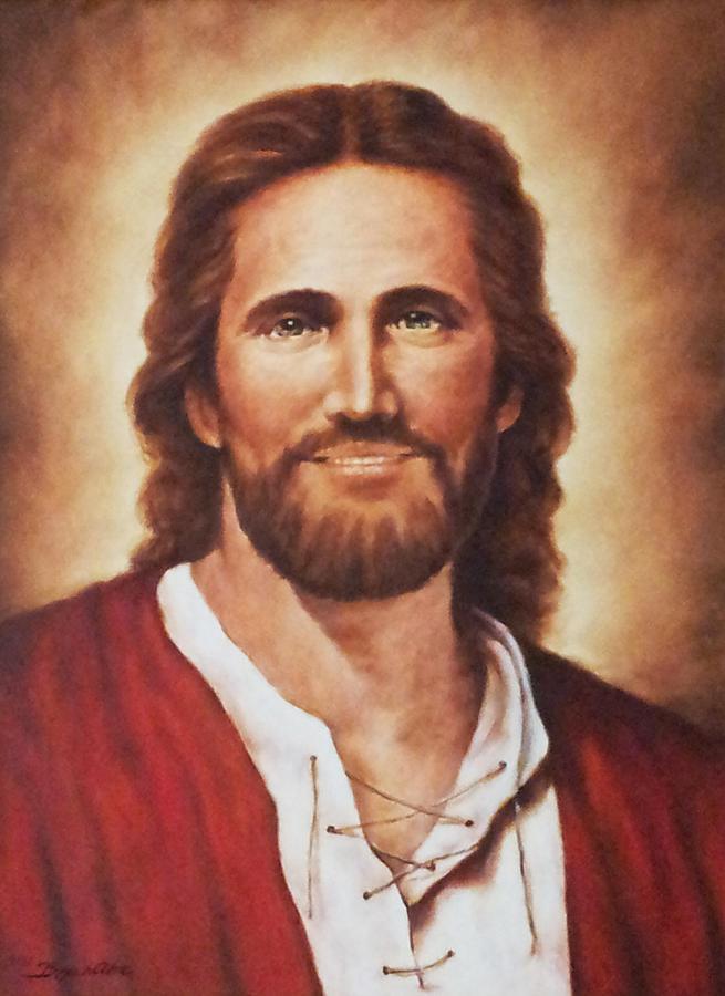 Portrait Painting - Jesus Christ by Bryan Ahn