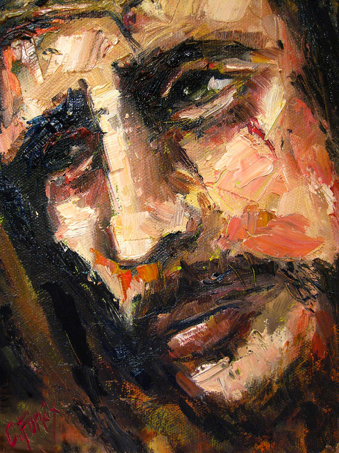 Jesus Christ Painting By Carole Foret