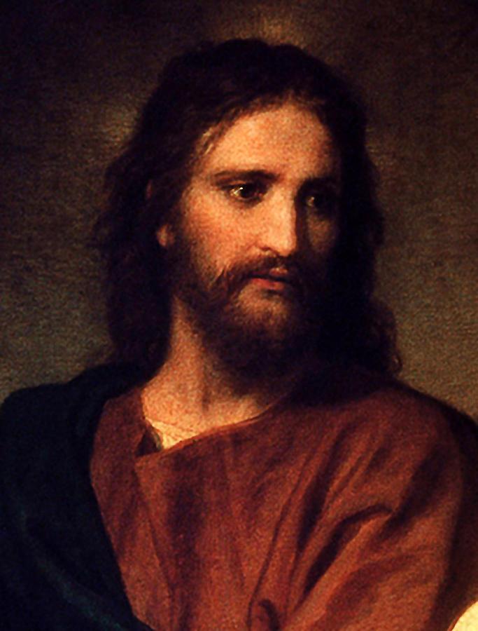 Jesus Christ Digital Art By Heinrich Hofmann