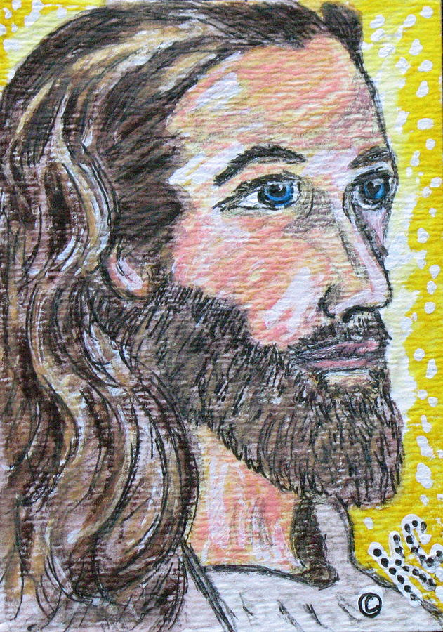 Jesus Christ Painting - Jesus Christ by Kathy Marrs Chandler