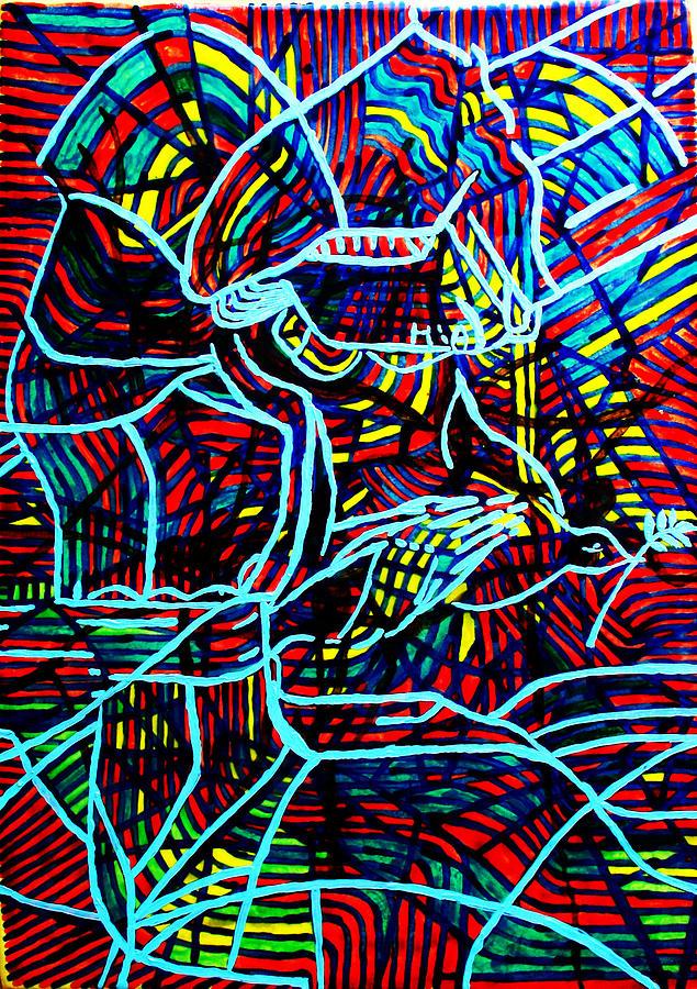 Jesus Ceramic Art - Jesus Christ - King Of Peace by Gloria Ssali