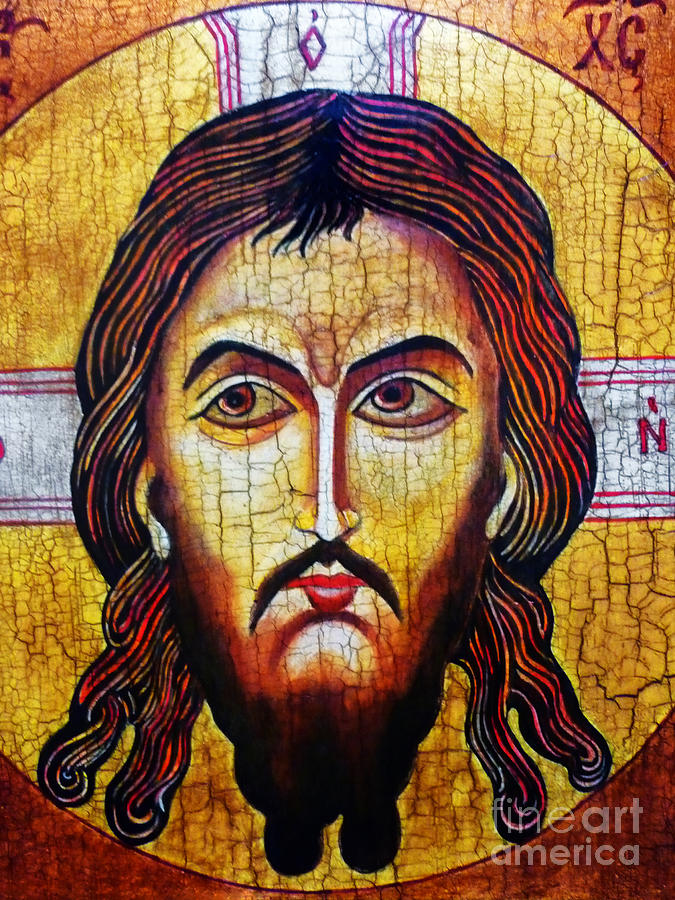 Jesus Christ Mandylion Painting