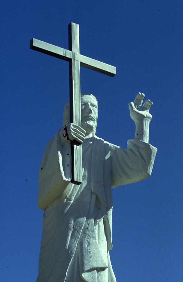 Jesus Christ Statue by Retro Images Archive