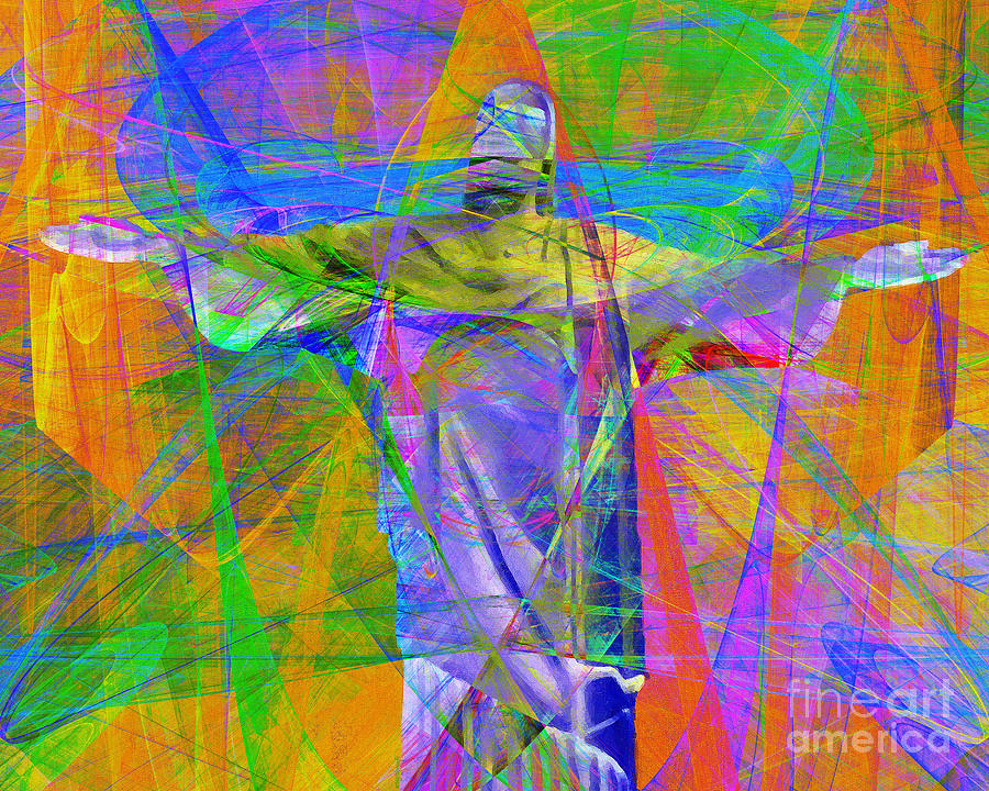 John Photograph - Jesus Christ Superstar 20130617 Horizontal by Wingsdomain Art and Photography