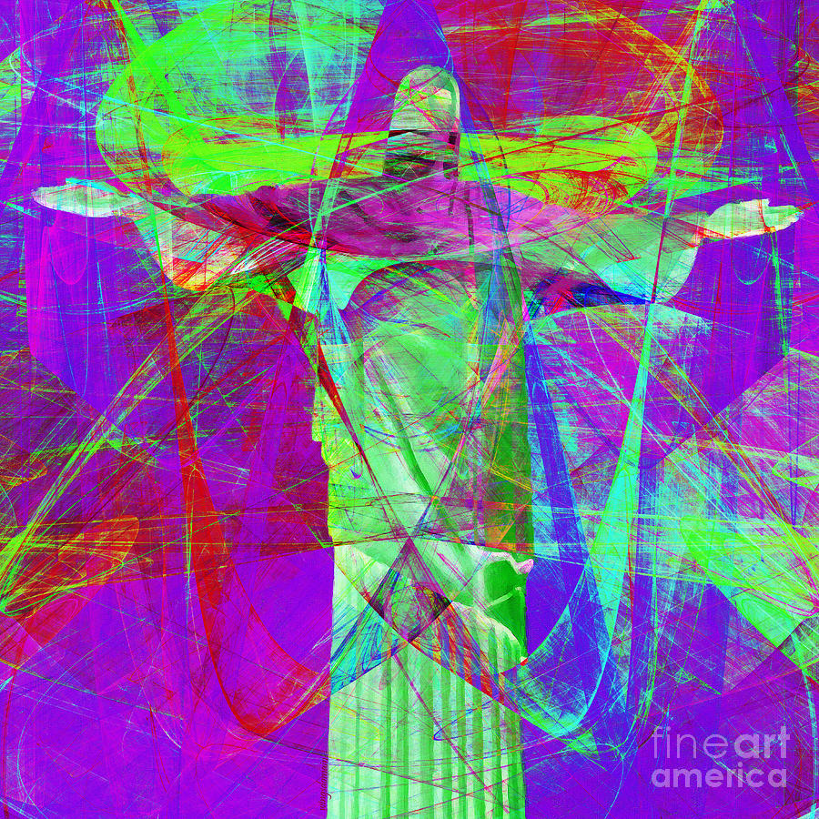 John Photograph - Jesus Christ Superstar 20130617m118 Square by Wingsdomain Art and Photography