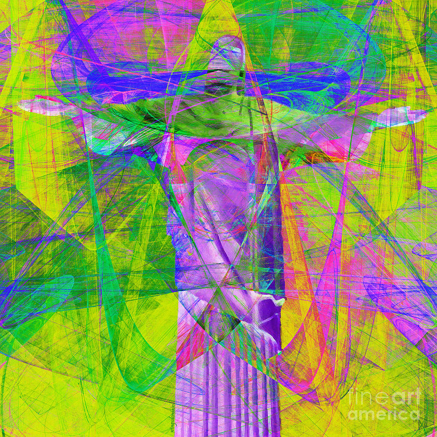 John Photograph - Jesus Christ Superstar 20130617p32 Square by Wingsdomain Art and Photography