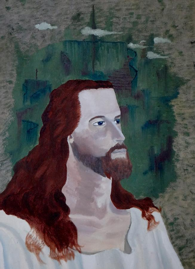 Oil Painting - Jesus Christ by Susan Roberts