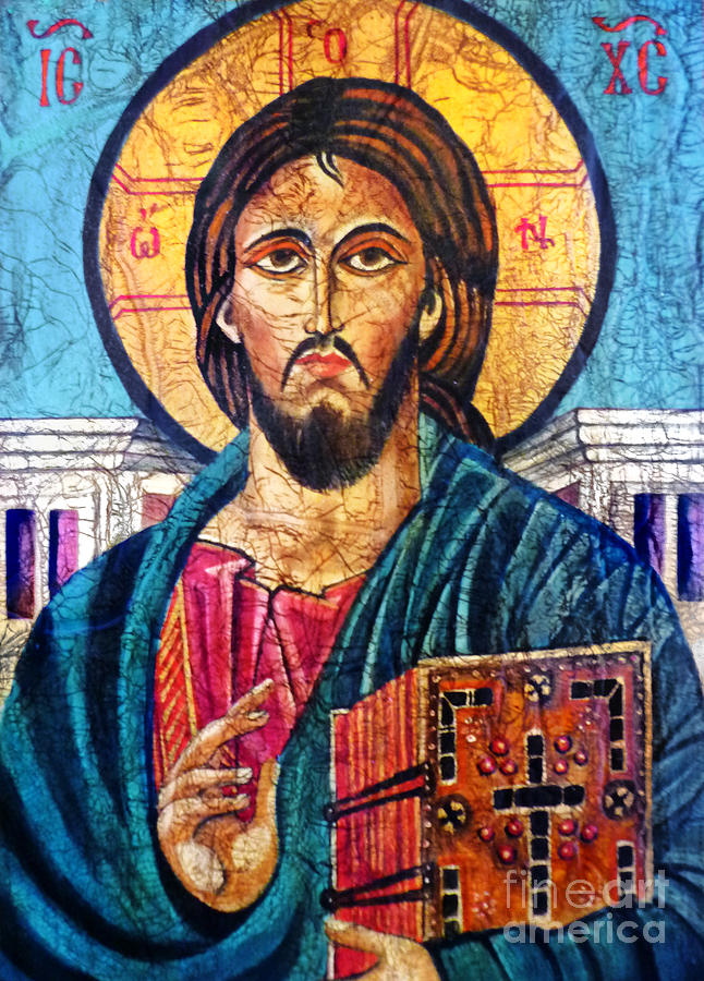 Jesus Christ The Pantocrator I Painting