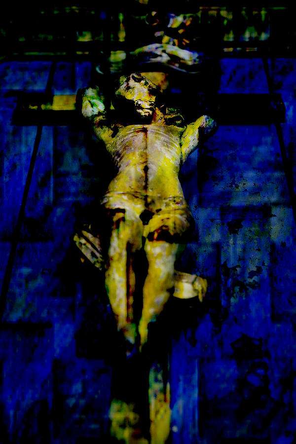 Bible Photograph - Jesus Christ  by Tommytechno Sweden