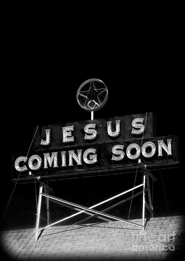 Eagles Photograph - Jesus Coming Soon by Edward Fielding