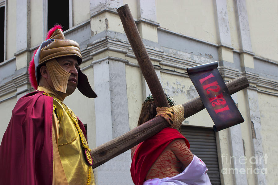 Easter Photograph - Jesus Died For Us Vi by Al Bourassa