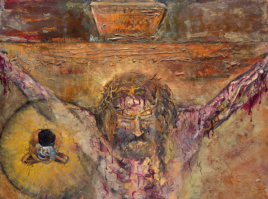 Jesus Dies on the Cross by Patricia Trudeau