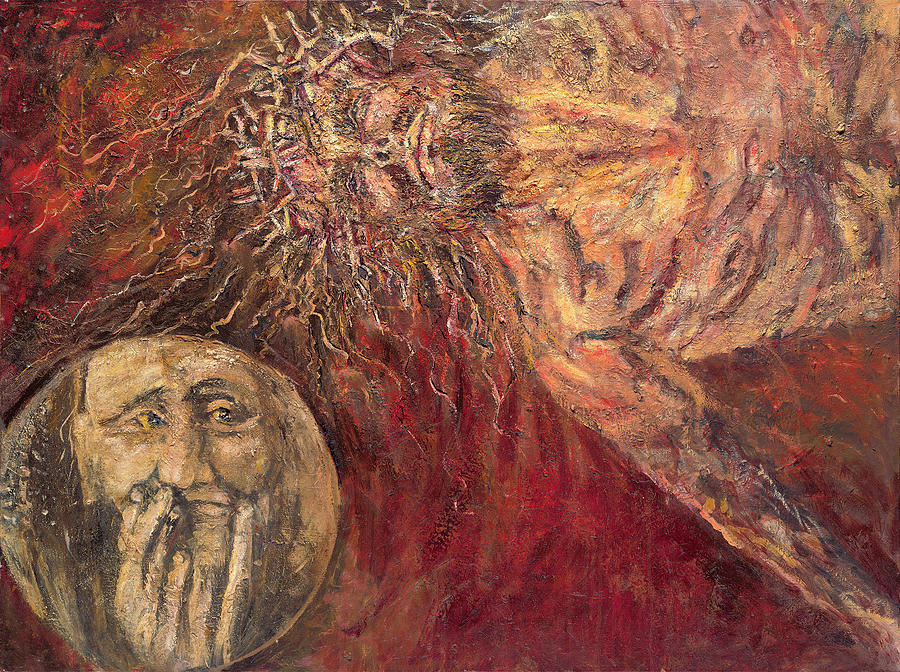 Jesus Falls for the Second Time by Patricia Trudeau