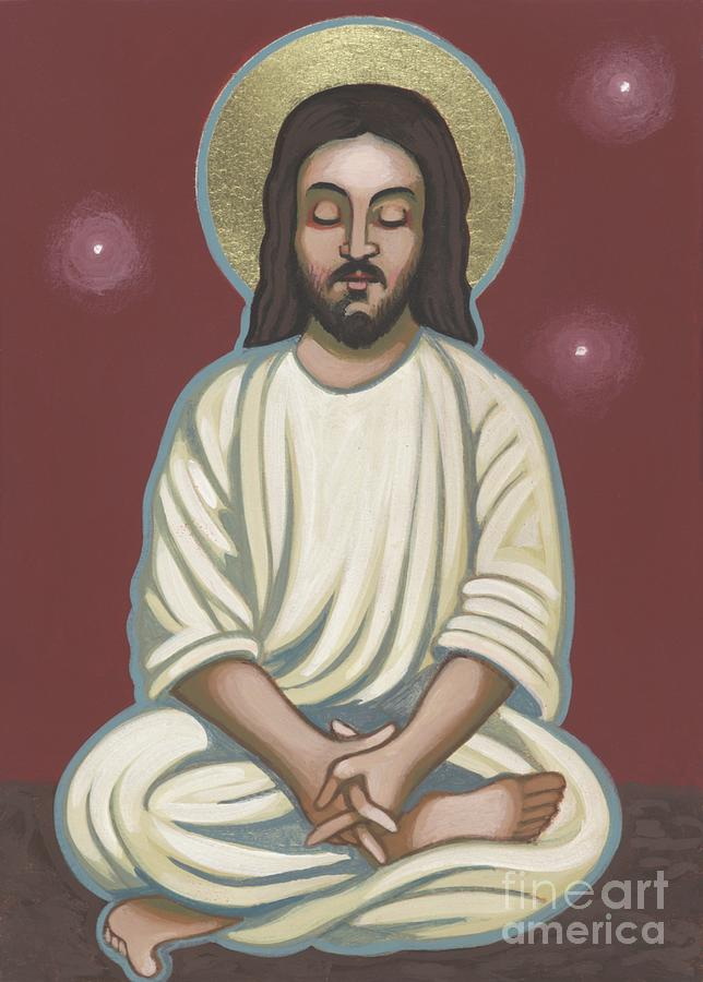Jesus Listen and Pray 251 Painting by William Hart McNichols