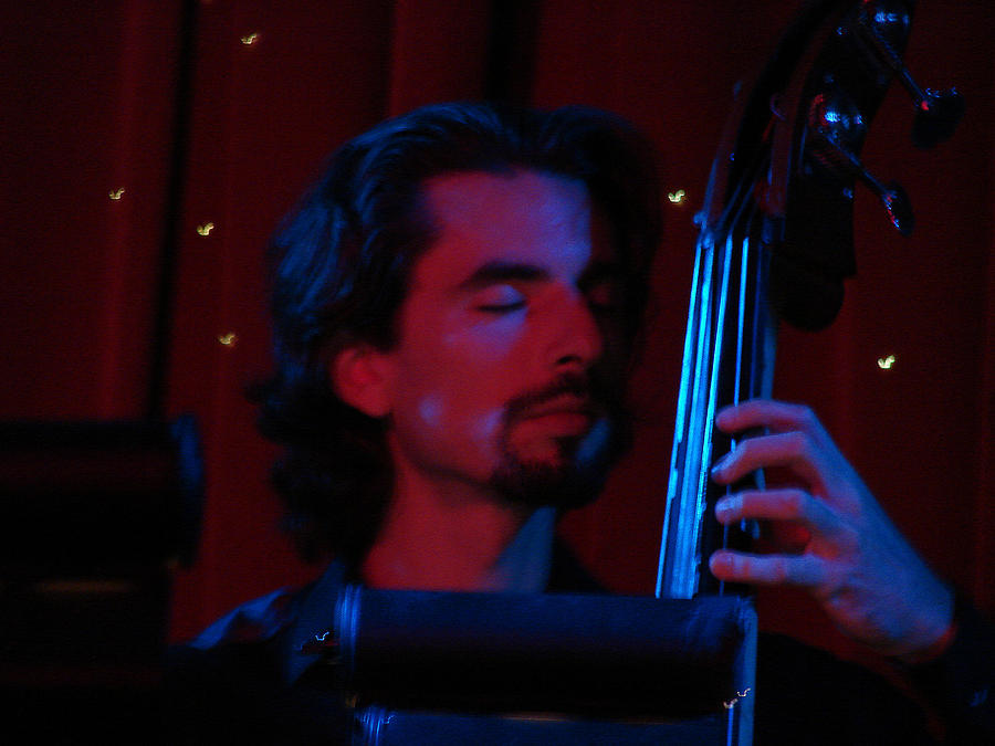 Jazz Photograph - Jesus On The Bass by Dana Patterson