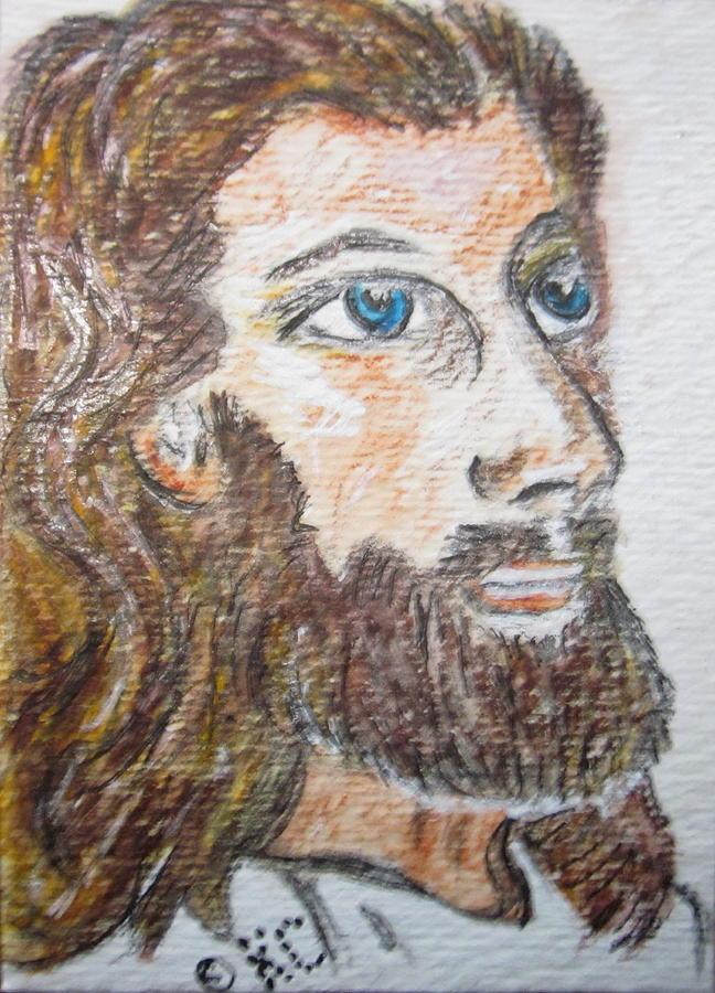 Jesus Painting - Jesus Our Saviour by Kathy Marrs Chandler