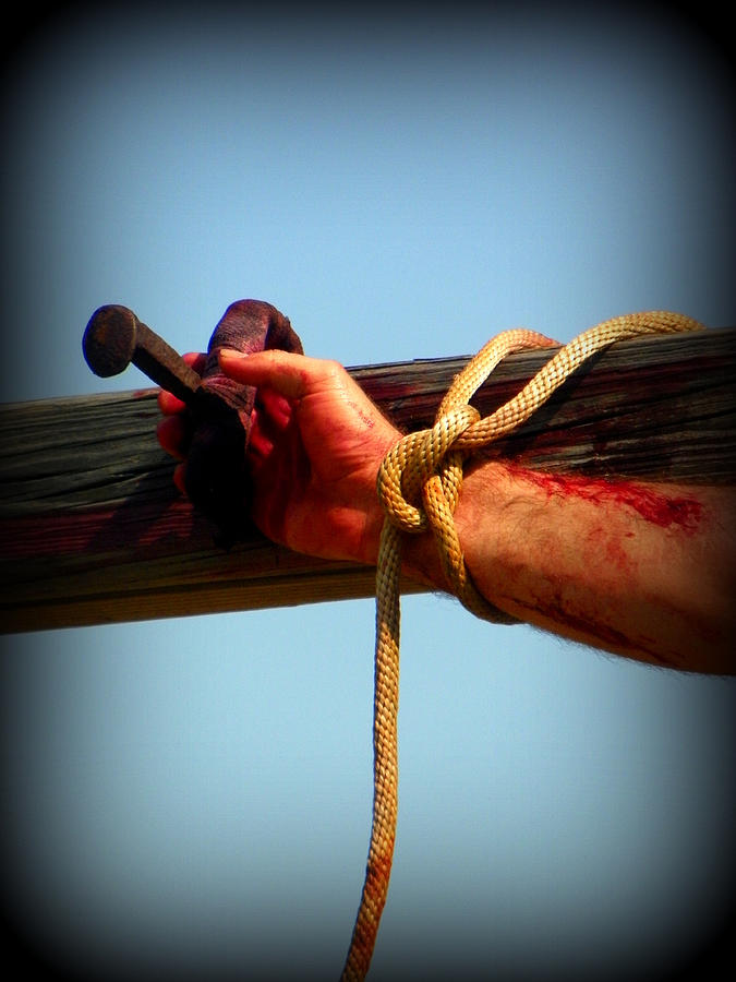 Jesus Photograph - Jesus Thank You by Sheri McLeroy