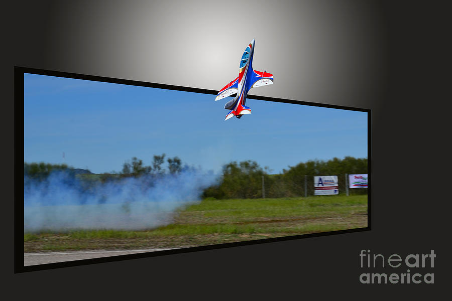 Jet Photograph - Jet 3d by Stefano Piccini