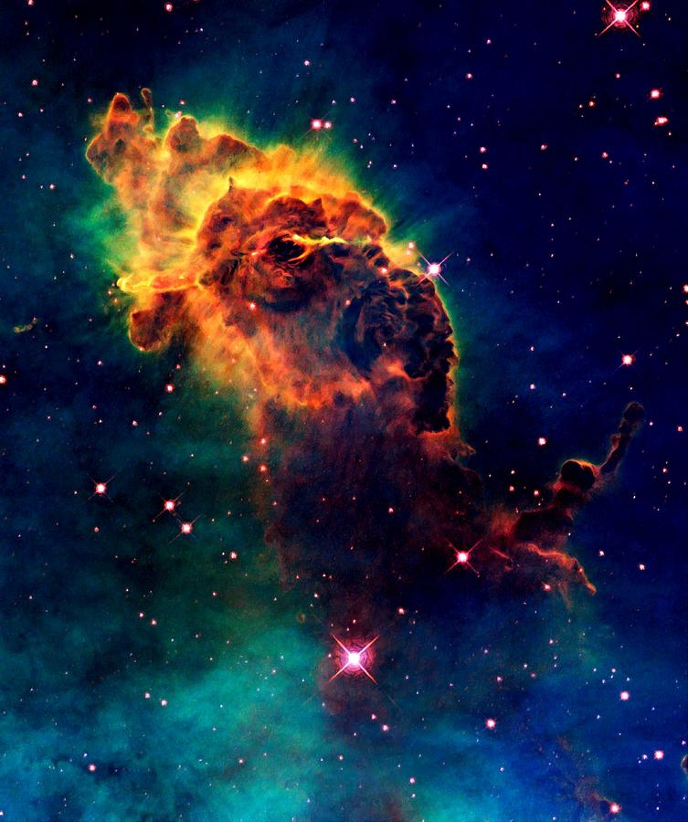 Hubble Photograph - Jet In Carina by Amanda Struz