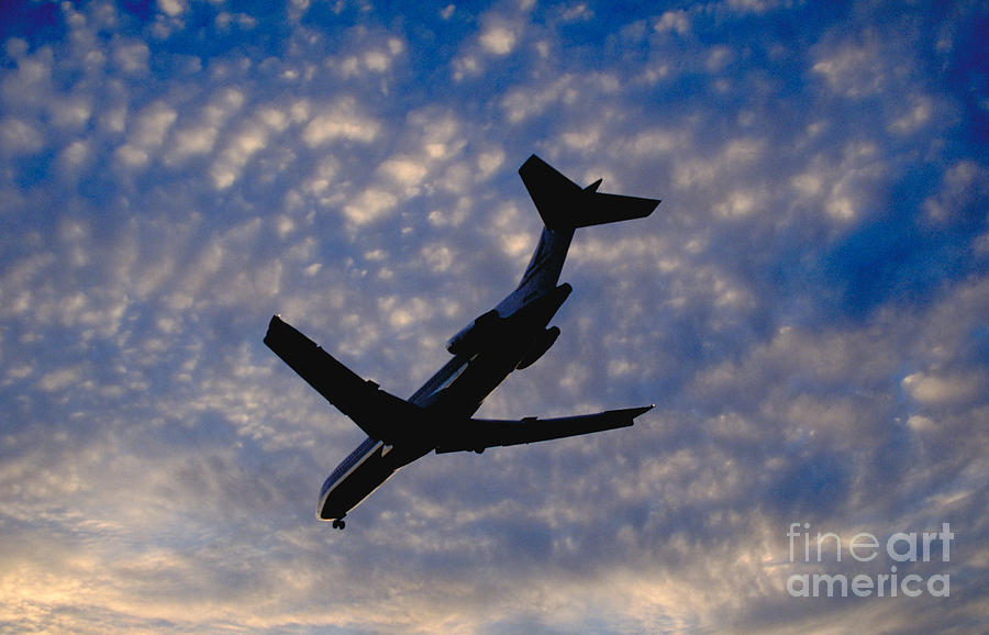Industry Photograph - Jet Take Off by Will and Deni McIntyre
