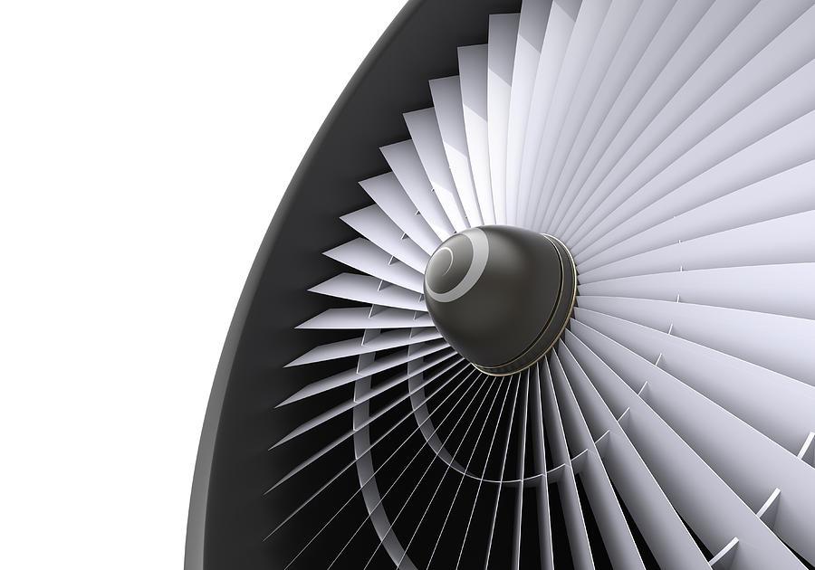 Jet Turbine Photograph by Klenger
