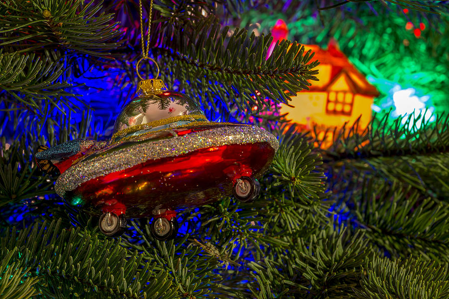 Jetsons Christmas Photograph by Calazone\'s Flics