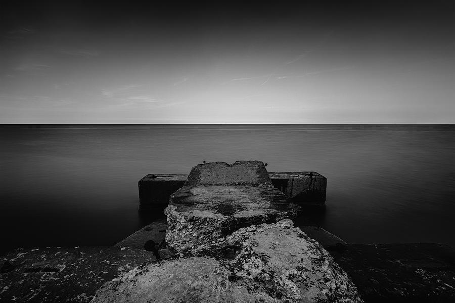 5d Mark Ii Photograph - Jetty by CJ Schmit