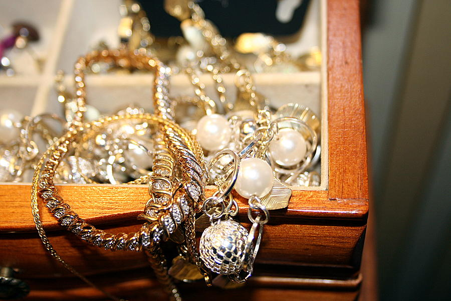 Jewelry Photograph - Jewelry Collections by Ester  Rogers