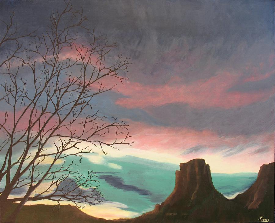 Sedona Painting - Jewels In The Sky by Janis Mock-Jones